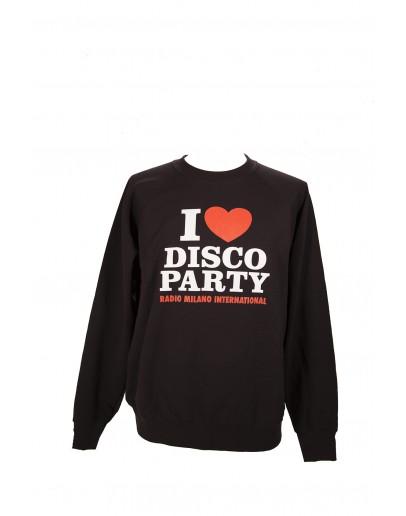 FELPA GIROCOLLO I LOVE DISCO PARTY