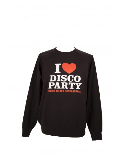 FELPA GIROCOLLO I LOVE DISCO PARTY