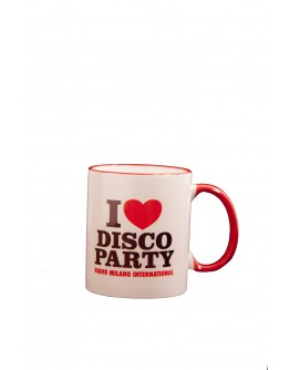 TAZZA I LOVE DISCO PARTY